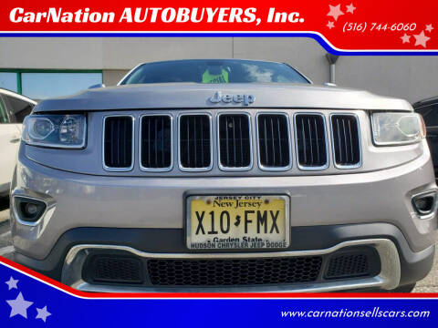 2015 Jeep Grand Cherokee for sale at CarNation AUTOBUYERS, Inc. in Rockville Centre NY