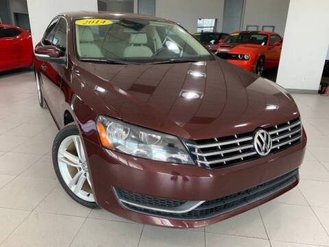 2014 Volkswagen Passat for sale at Auto Mall of Springfield north in Springfield IL