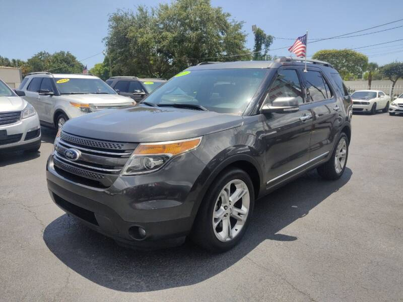 2015 Ford Explorer for sale at Bargain Auto Sales in West Palm Beach FL