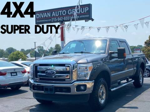 2011 Ford F-250 Super Duty for sale at Divan Auto Group in Feasterville Trevose PA