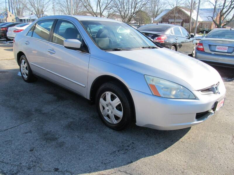 2003 Honda Accord for sale at St. Mary Auto Sales in Hilliard OH