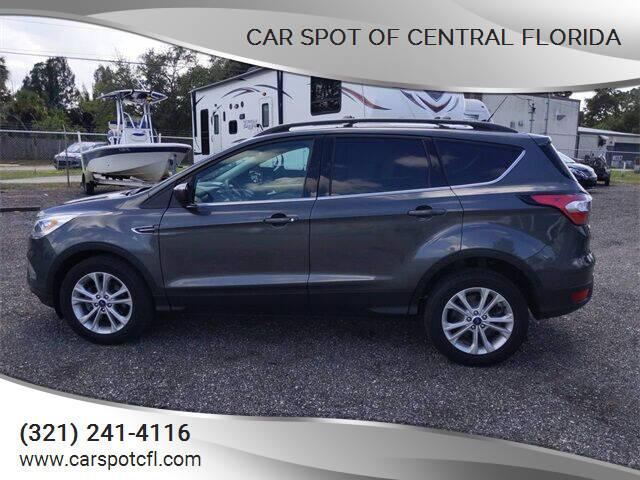 2018 Ford Escape for sale at Car Spot Of Central Florida in Melbourne FL