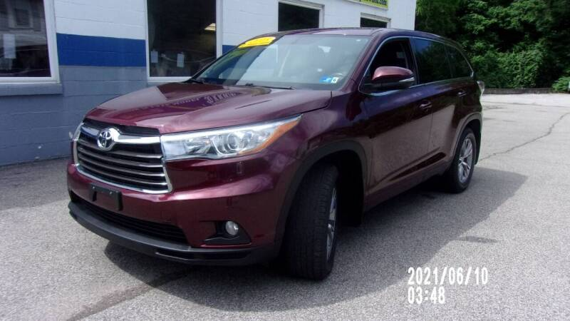 2015 Toyota Highlander for sale at Allen's Pre-Owned Autos in Pennsboro WV