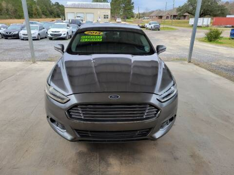 2013 Ford Fusion for sale at Auto Guarantee, LLC in Eunice LA