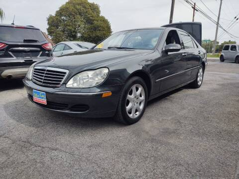 2003 Mercedes-Benz S-Class for sale at Peter Kay Auto Sales in Alden NY