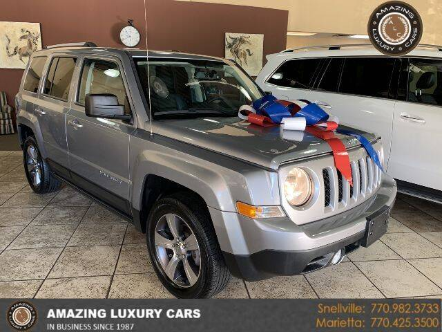 2017 Jeep Patriot for sale at Amazing Luxury Cars in Snellville GA