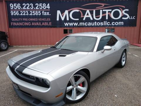 2010 Dodge Challenger for sale at MC Autos LLC in Pharr TX