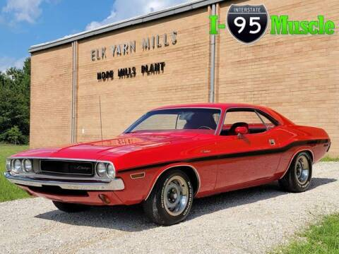 1970 Dodge Challenger for sale at I-95 Muscle in Hope Mills NC