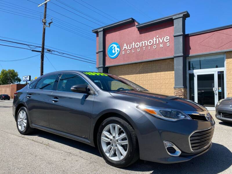 2013 Toyota Avalon for sale at Automotive Solutions in Louisville KY