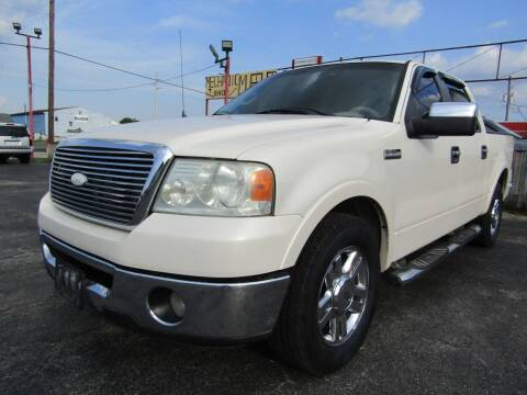 2008 Ford F-150 for sale at AJA AUTO SALES INC in South Houston TX