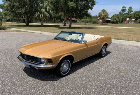 1970 Ford Mustang for sale at P J'S AUTO WORLD-CLASSICS in Clearwater FL