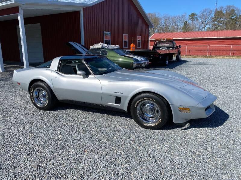 1982 Chevrolet Corvette for sale at F & A Corvette in Colonial Beach VA