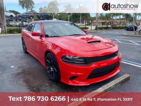 2019 Dodge Charger for sale at AUTOSHOW SALES & SERVICE in Plantation FL