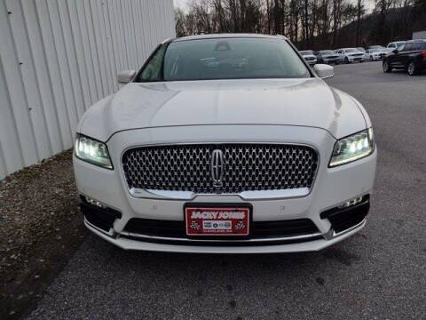 2017 Lincoln Continental for sale at CU Carfinders in Norcross GA