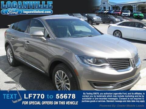 2017 Lincoln MKX for sale at Loganville Quick Lane and Tire Center in Loganville GA