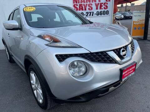 2016 Nissan JUKE for sale at Manny G Motors in San Antonio TX