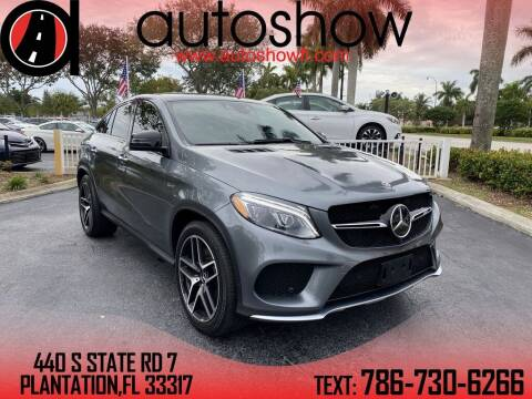 2018 Mercedes-Benz GLE for sale at AUTOSHOW SALES & SERVICE in Plantation FL