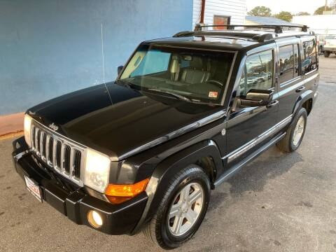 2009 Jeep Commander for sale at Trimax Auto Group in Norfolk VA