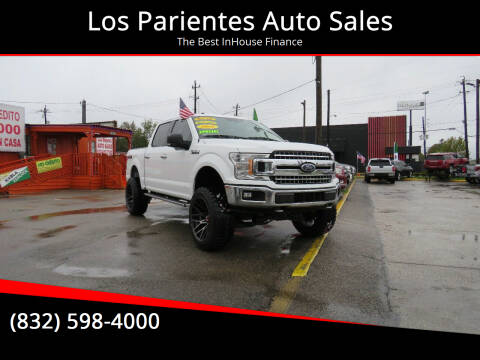 2018 Ford F-150 for sale at Los Parientes Auto Sales in Houston TX