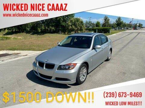 2007 BMW 3 Series for sale at WICKED NICE CAAAZ - Wheels in Capr Coral FL