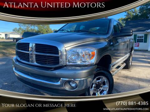 2006 Dodge Ram Pickup 2500 for sale at Atlanta United Motors in Jefferson GA