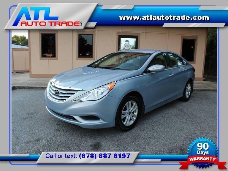 2011 Hyundai Sonata for sale at ATL Auto Trade, Inc. in Stone Mountain GA