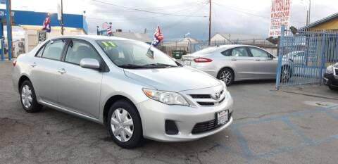 2011 Toyota Corolla for sale at Autosales Kingdom in Lancaster CA