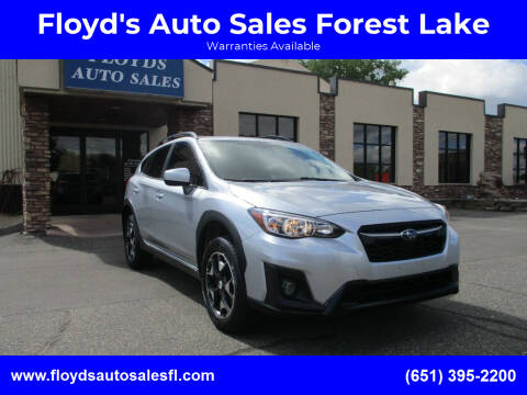 2018 Subaru Crosstrek for sale at Floyd's Auto Sales Forest Lake in Forest Lake MN