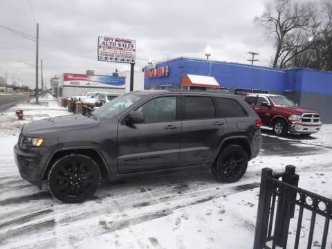 2017 Jeep Grand Cherokee for sale at City Motors Auto Sale LLC in Redford MI