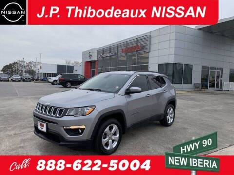 2019 Jeep Compass for sale at J P Thibodeaux Used Cars in New Iberia LA