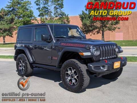2020 Jeep Wrangler for sale at Gandrud Dodge in Green Bay WI