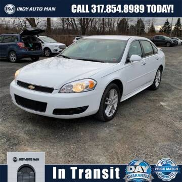 2013 Chevrolet Impala for sale at INDY AUTO MAN in Indianapolis IN