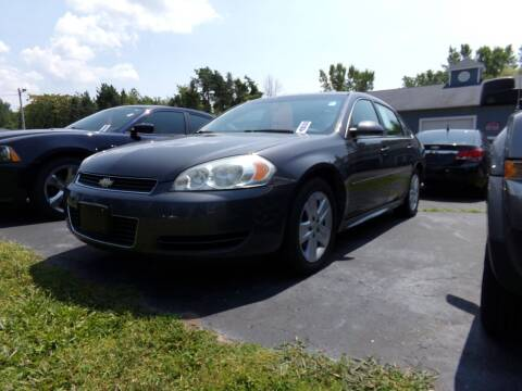 2010 Chevrolet Impala for sale at Pool Auto Sales Inc in Spencerport NY