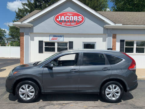 2013 Honda CR-V for sale at Jacobs Motors LLC in Bellefontaine OH