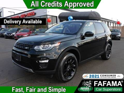 2018 Land Rover Discovery Sport for sale at FAFAMA AUTO SALES Inc in Milford MA