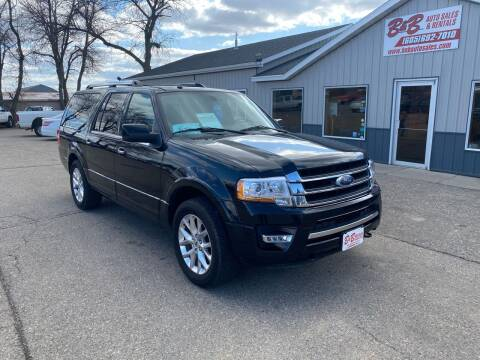 2017 Ford Expedition EL for sale at B & B Auto Sales in Brookings SD