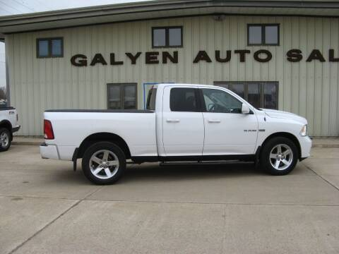 2010 Dodge Ram Pickup 1500 for sale at Galyen Auto Sales Inc. in Atkinson NE