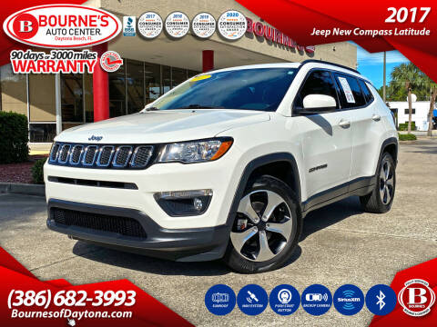 2017 Jeep Compass for sale at Bourne's Auto Center in Daytona Beach FL