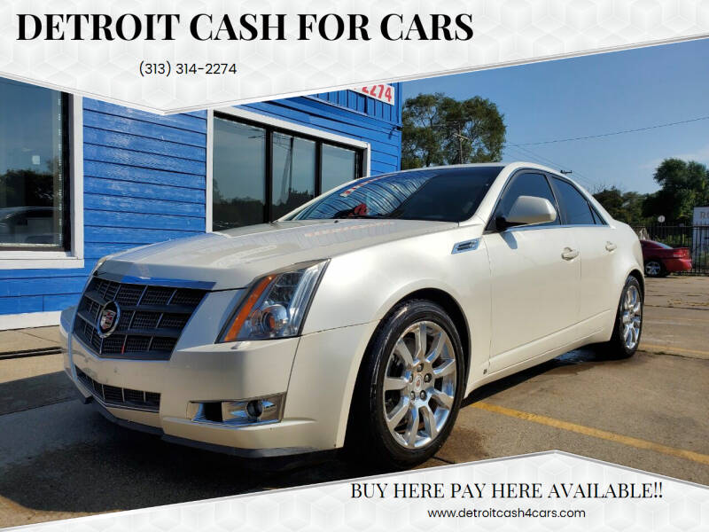 2008 Cadillac CTS for sale at Detroit Cash for Cars in Warren MI