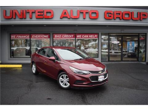 2016 Chevrolet Cruze for sale at United Auto Group in Putnam CT