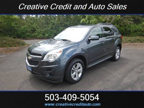 2011 Chevrolet Equinox for sale at Creative Credit & Auto Sales in Salem OR