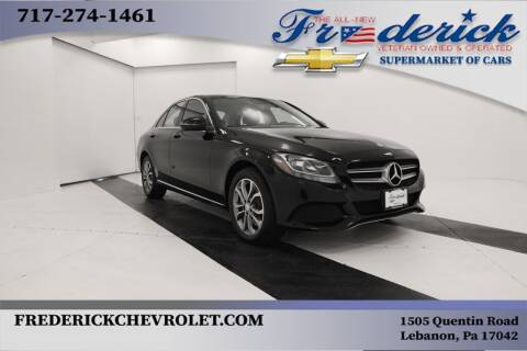 2017 Mercedes-Benz C-Class for sale at Lancaster Pre-Owned in Lancaster PA