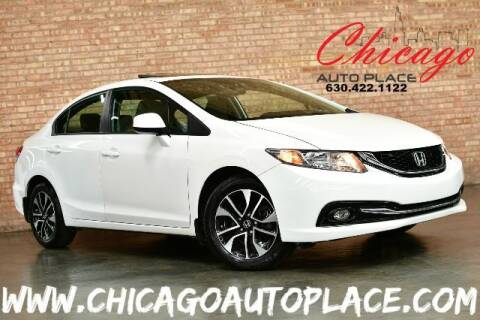 2013 Honda Civic for sale at Chicago Auto Place in Bensenville IL