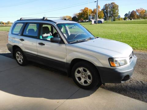 2004 Subaru Forester for sale at WESTERN RESERVE AUTO SALES in Beloit OH