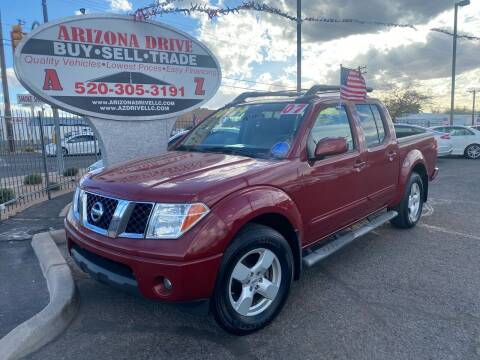 2007 Nissan Frontier for sale at Arizona Drive LLC in Tucson AZ