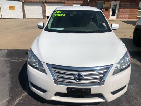 2013 Nissan Sentra for sale at Moore Imports Auto in Moore OK