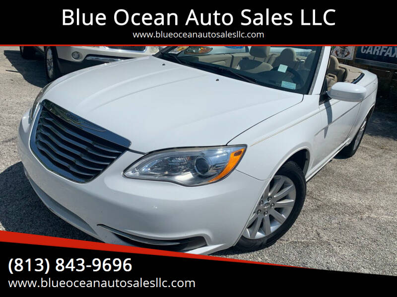 2011 Chrysler 200 Convertible for sale at Blue Ocean Auto Sales LLC in Tampa FL