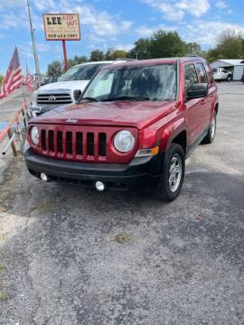 2014 Jeep Patriot for sale at LEE AUTO SALES in McAlester OK