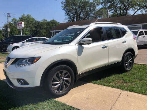 2016 Nissan Rogue for sale at CPM Motors Inc in Elgin IL