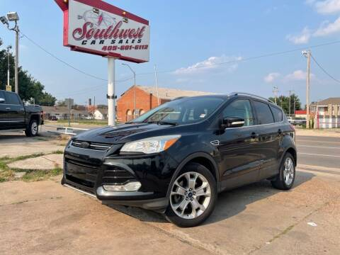 2014 Ford Escape for sale at Southwest Car Sales in Oklahoma City OK
